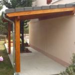 Couvrir Une Terrasse En Dur Pergola Avec toiture Ardoise