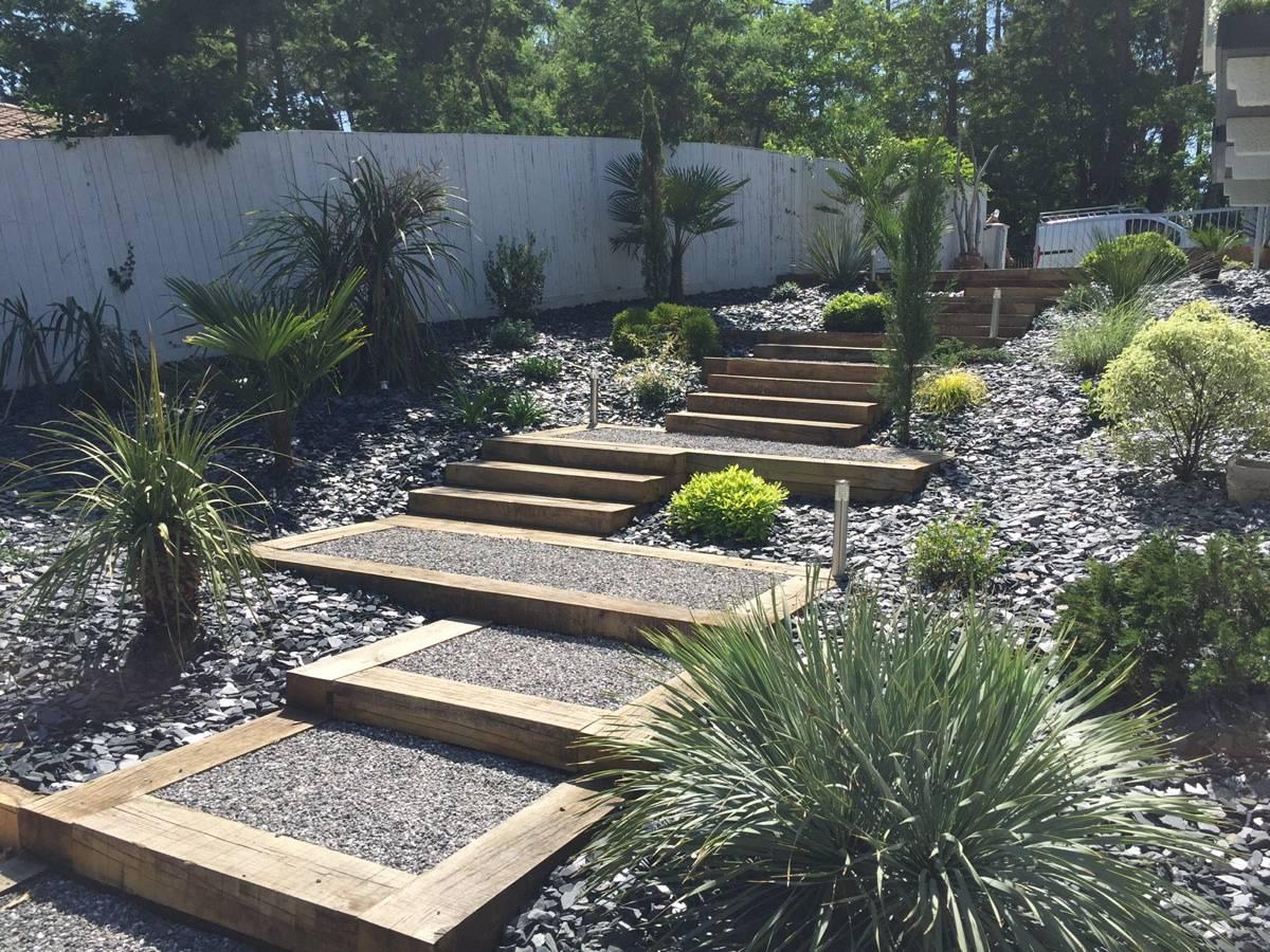Création De Jardin Réaménagement Plet D Un Jardin Au Cap Ferret Paysagiste