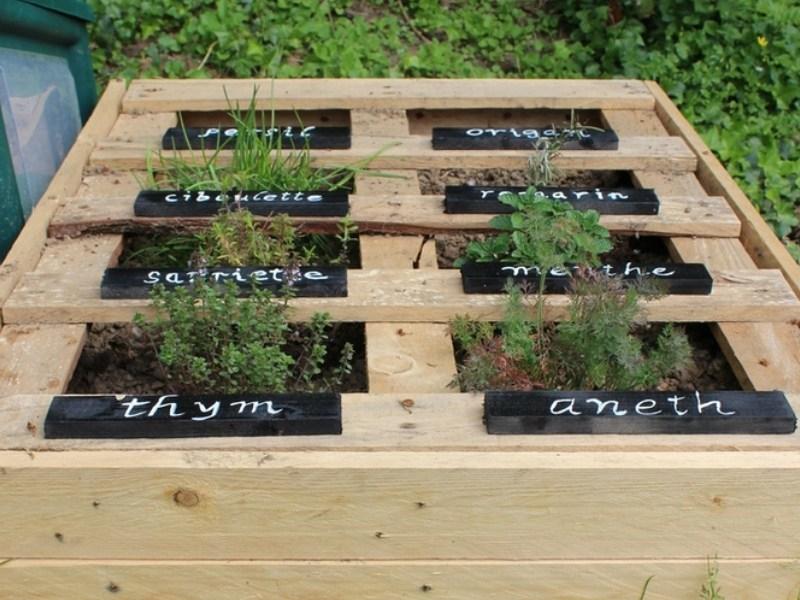 Crer Des Bacs De Jardin Avec Des Palettes Elegant Dossier