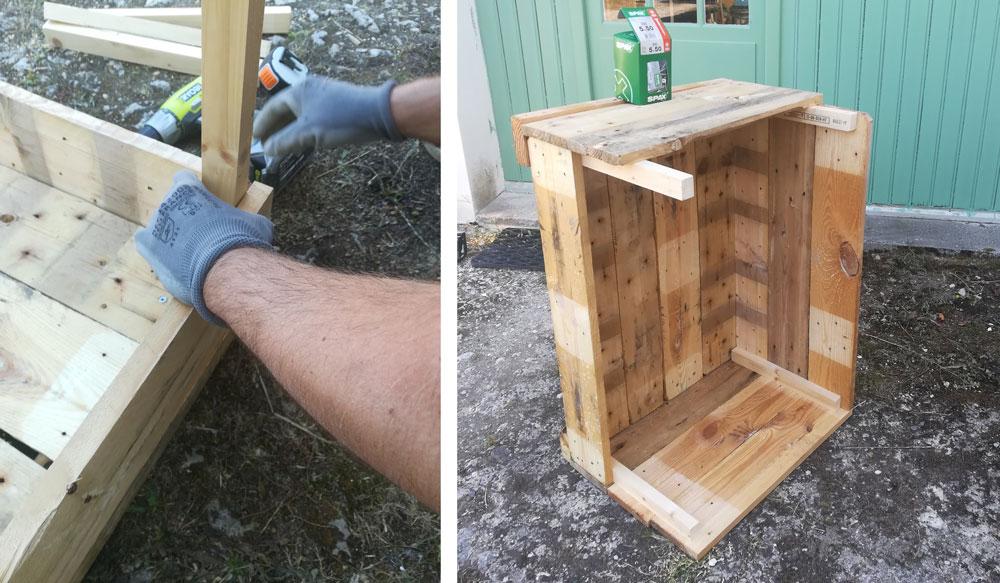 DIY une jardinière en palette – Vert Cerise Blog DIY