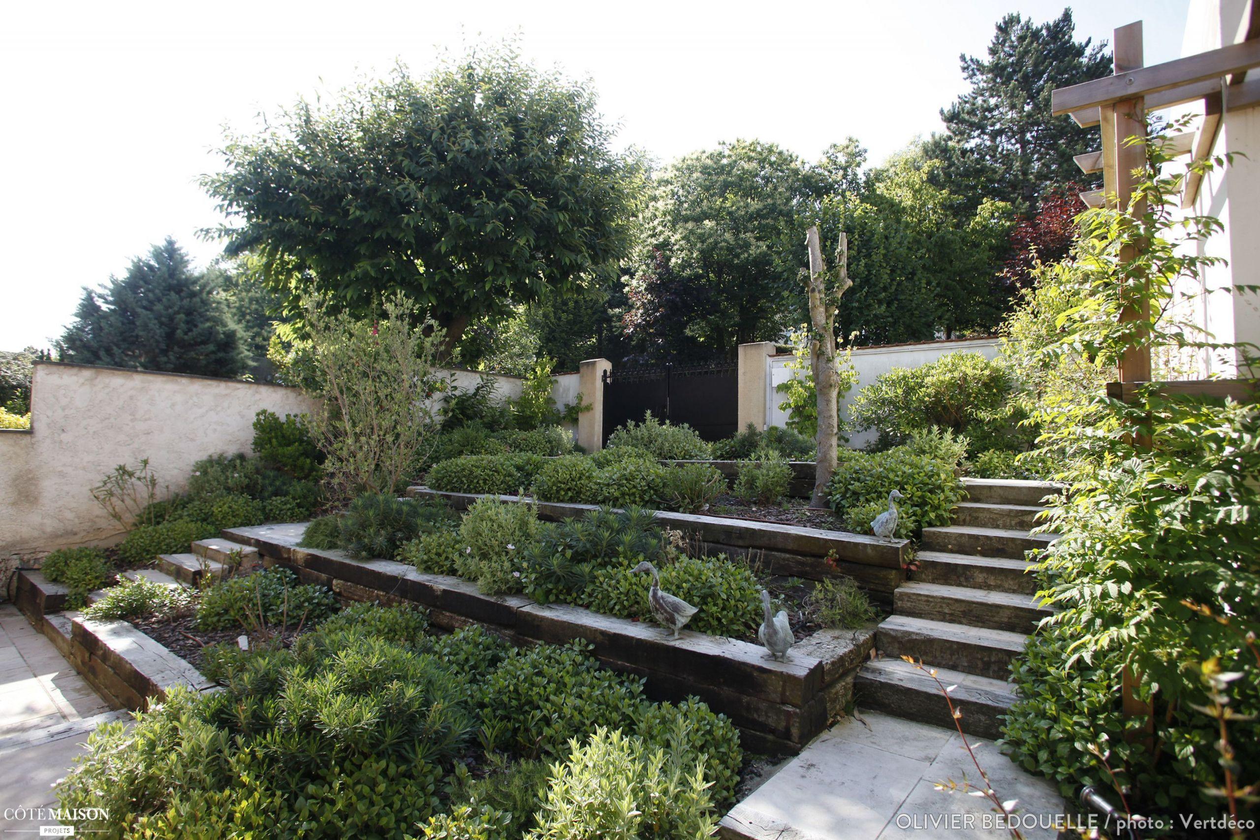 Créer Un Jardin Paysager Concept