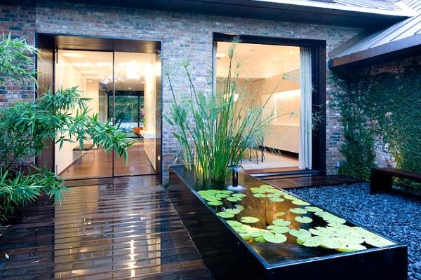 Creation De Bassin Créer Un Bassin Contemporain Dans Votre Jardin