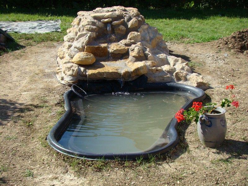 Creation De Bassin Rocaille Cascade Bing Jardin