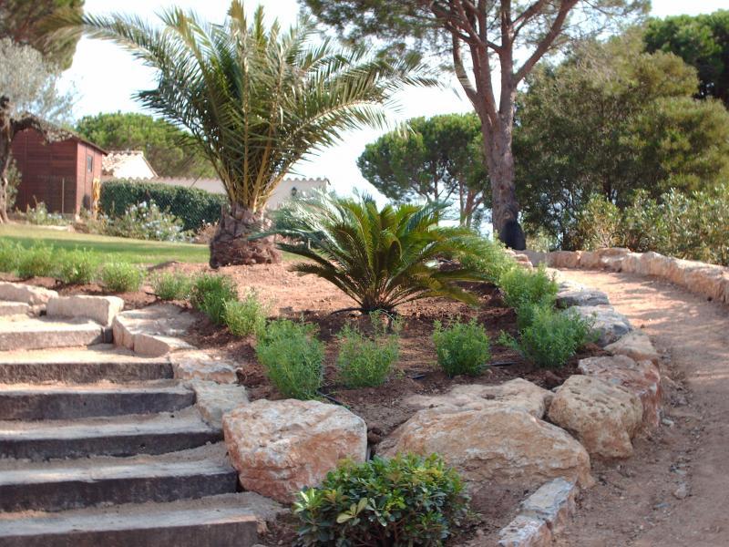 Création d espace vert Paysagiste Ste Maxime Var