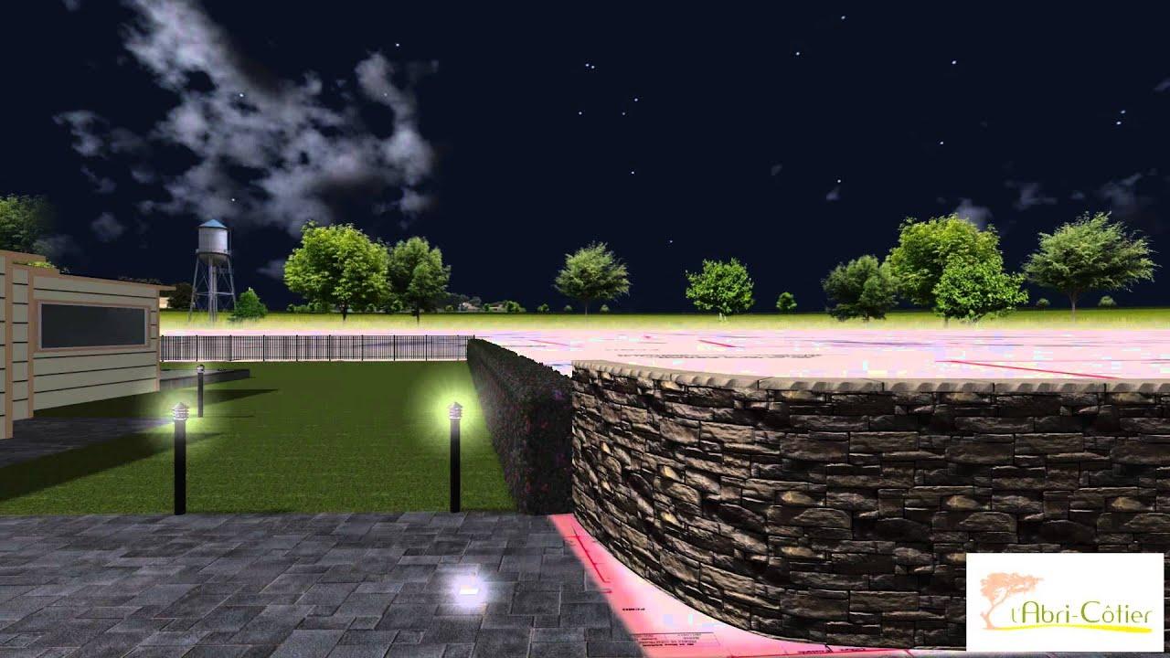 création jardin 3D