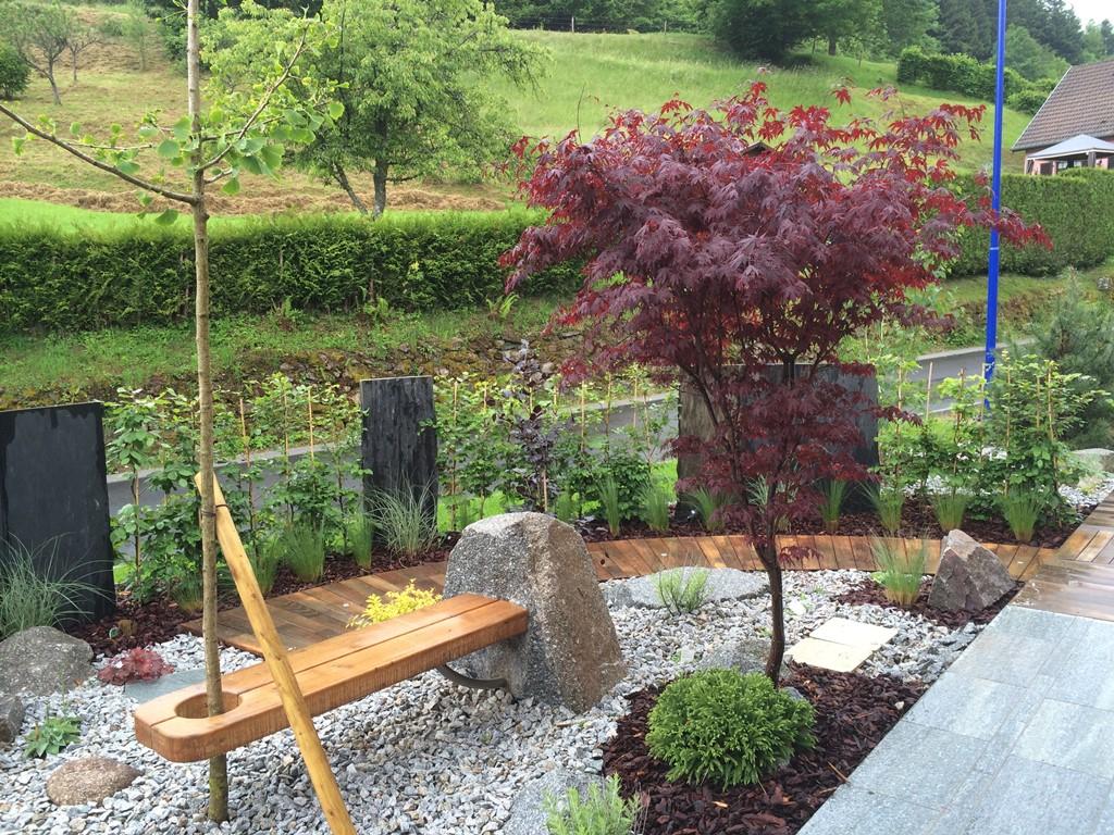 Paysagiste création entretien de jardins terrasse