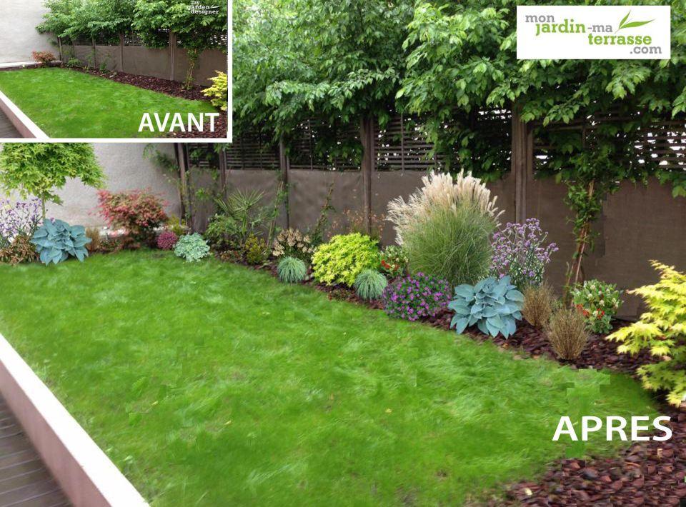 Créer Un Jardin Paysager Créer Un Massif à L'ombre D'un Mur