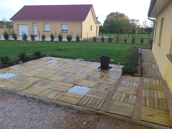 Créer Une Terrasse Création De Terrasses Pour Maison Individuelle Louhans 71
