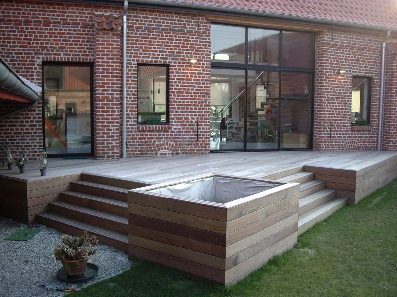Créer Une Terrasse En Bois House Plans