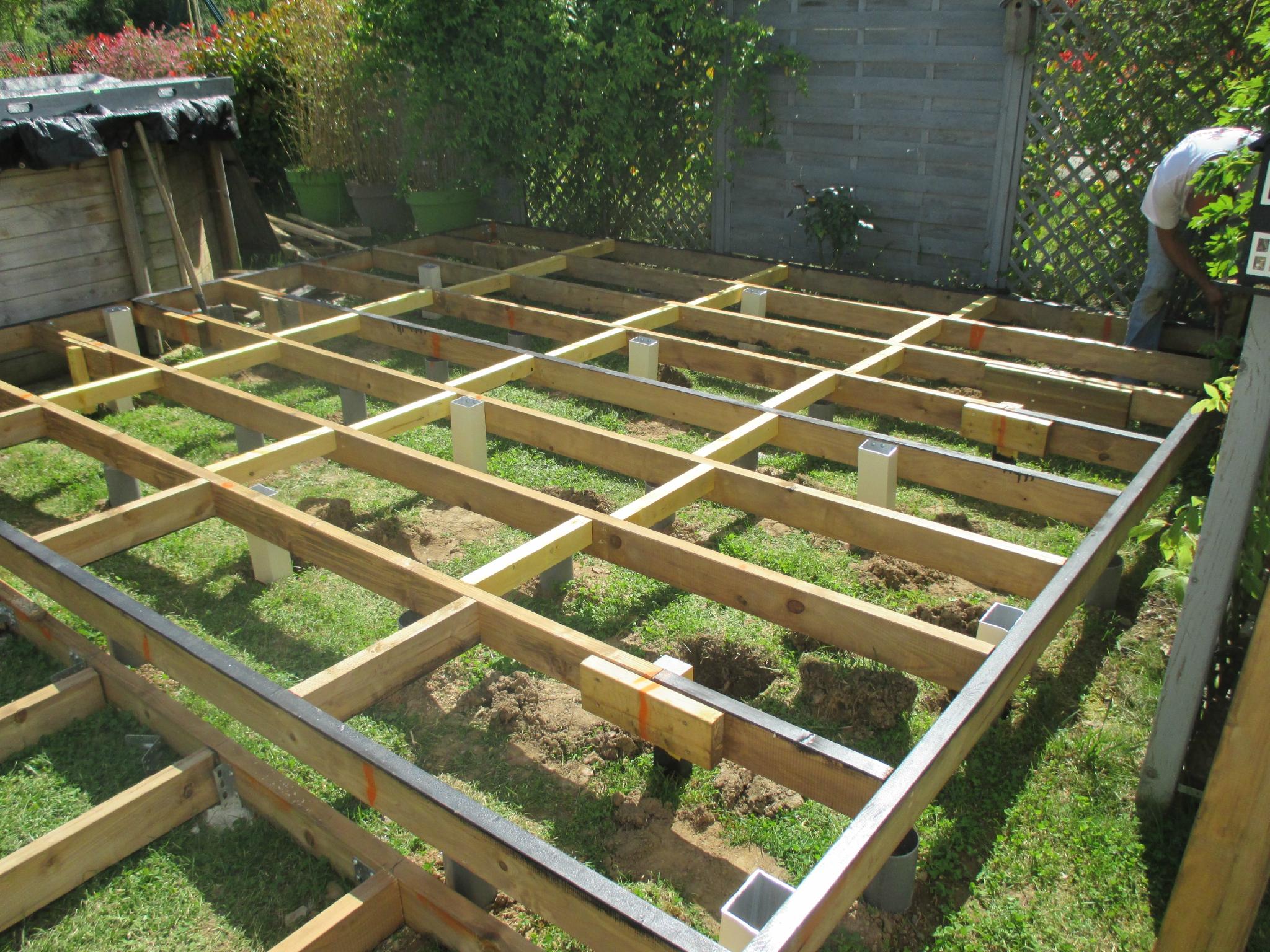 Projet de travaux maison une terrasse bois me on en