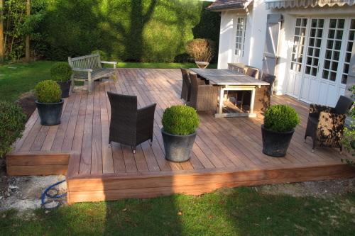 Règles de construction Terrasse en bois