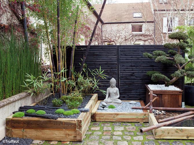 Jardin zen visez la plénitude Elle Décoration