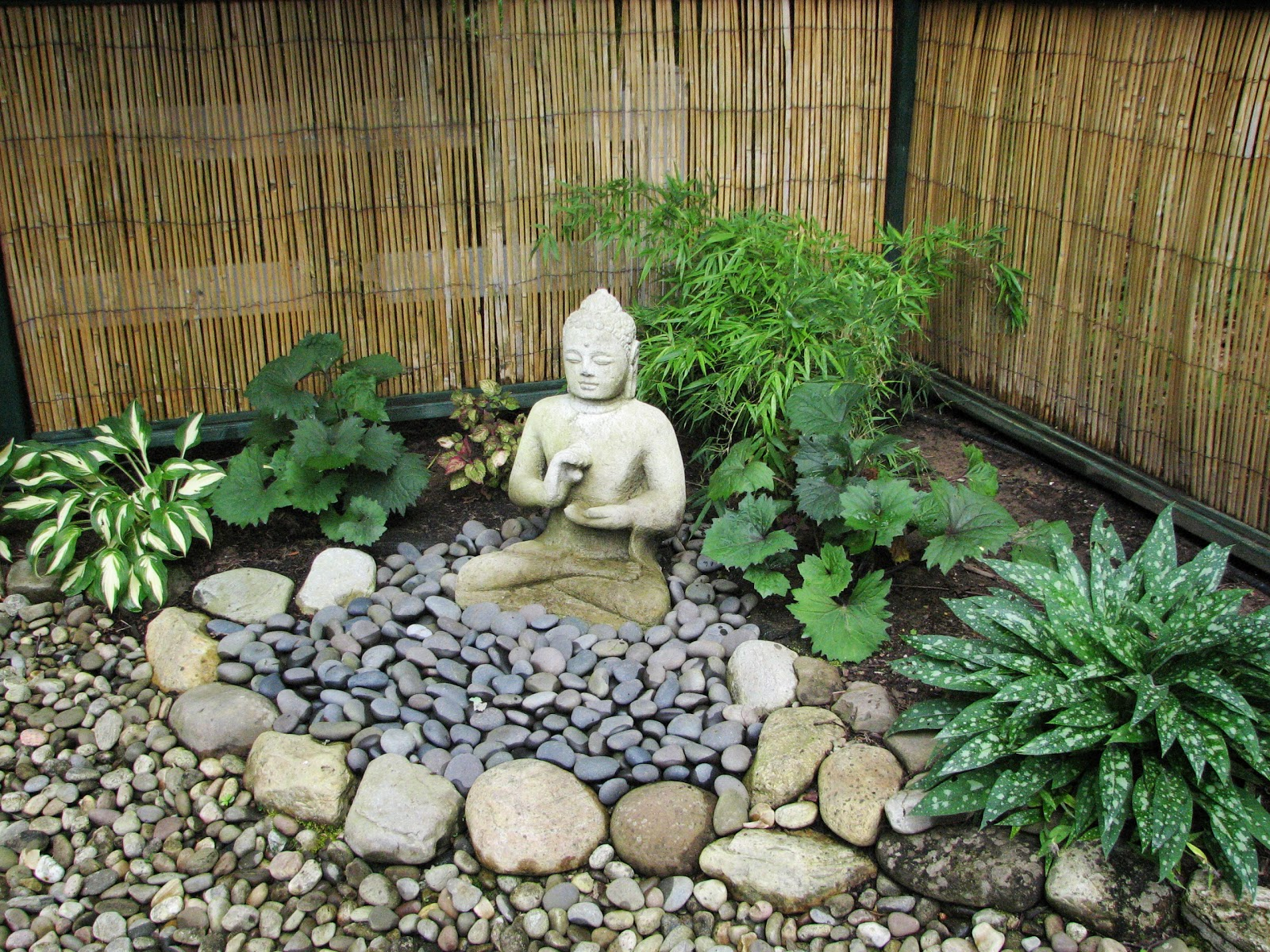 Décoration Jardin Zen My Zen Garden Buddha and the Dunce
