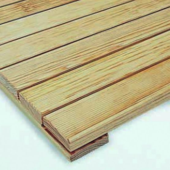 Dalle de circulation en bois pour terrasses accessibles