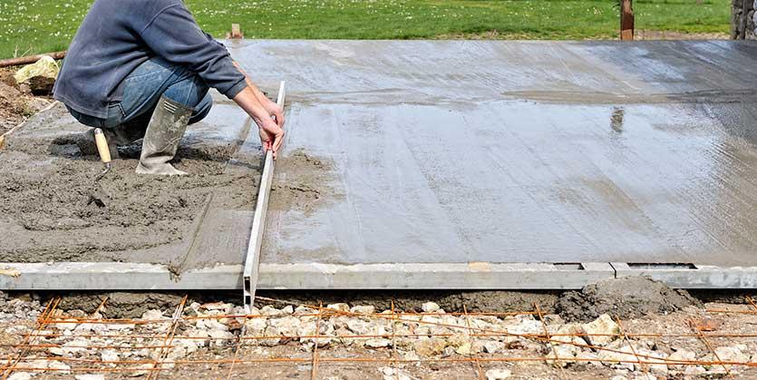 Dalle beton pas cher