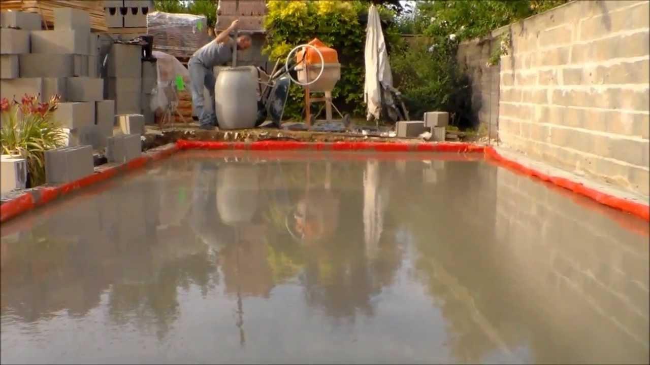 ment faire une dalle beton how to make a concrete slab