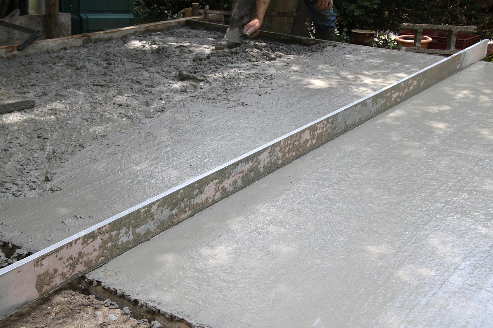 Chape de ciment ment réaliser une chape en ciment