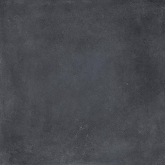 Dalle extérieure effet carreau de ciment noir Gatsby l 60