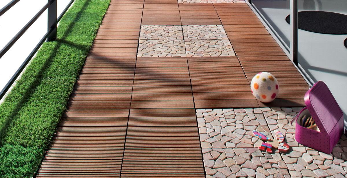 Dalle Terrasse posite à Clipser Brun