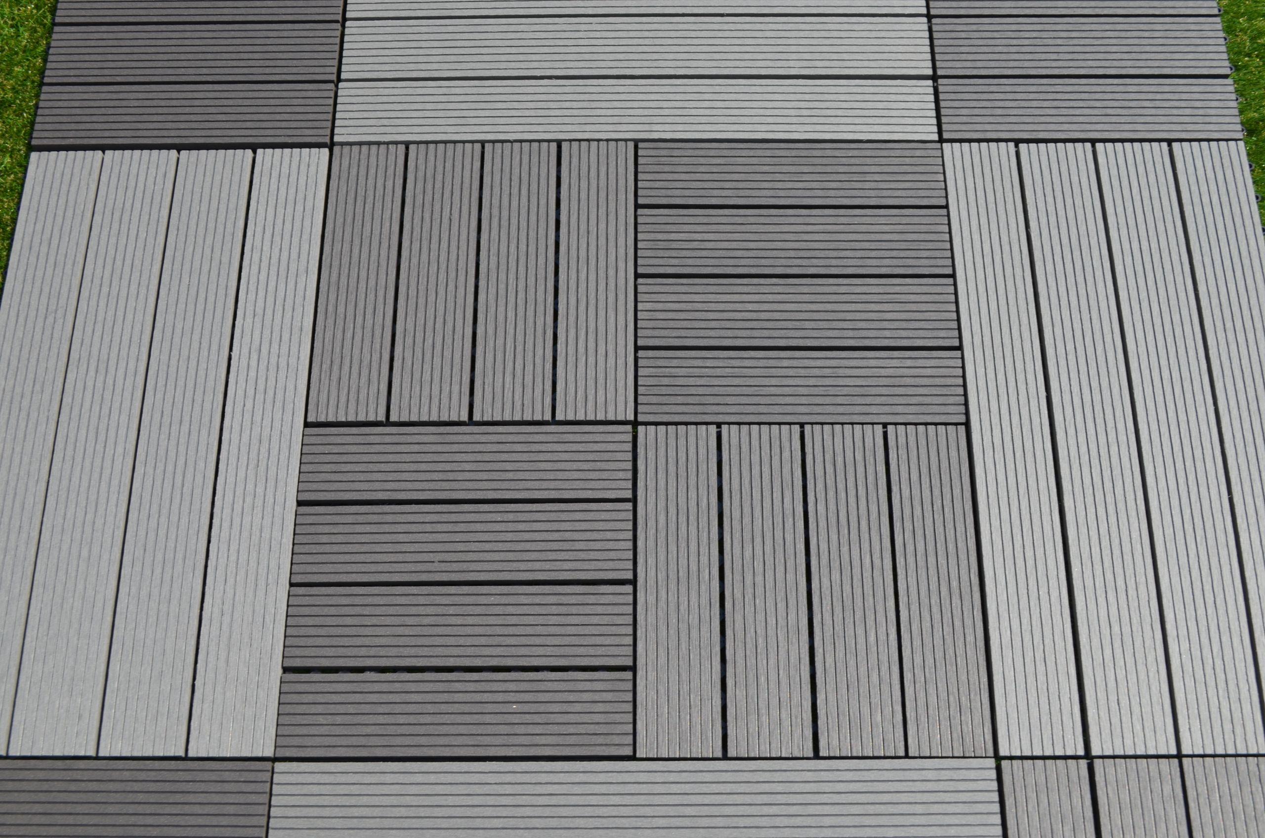 Terrasse posite sur dalle