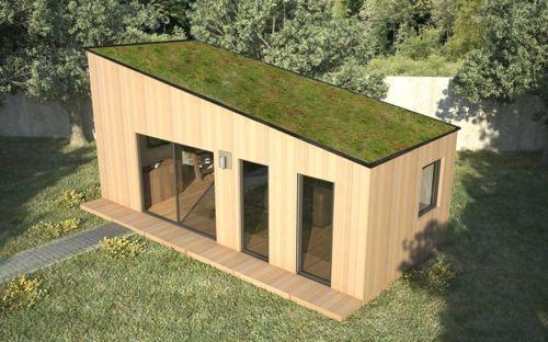 Chalet de Jardin avec mezzanine et toit en pente SOFIA