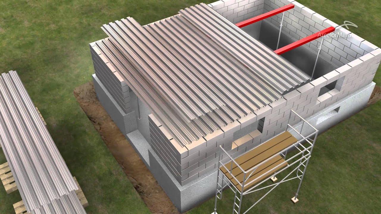 Cofraplus 60 dalle béton acier en plancher collaborant