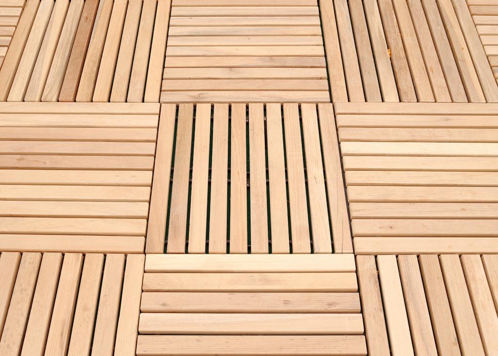 Dalle de terrasse clipsable matériaux installation