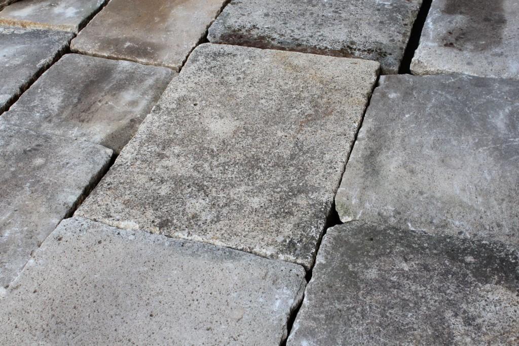 Dalle granit ancienne Format opus romain