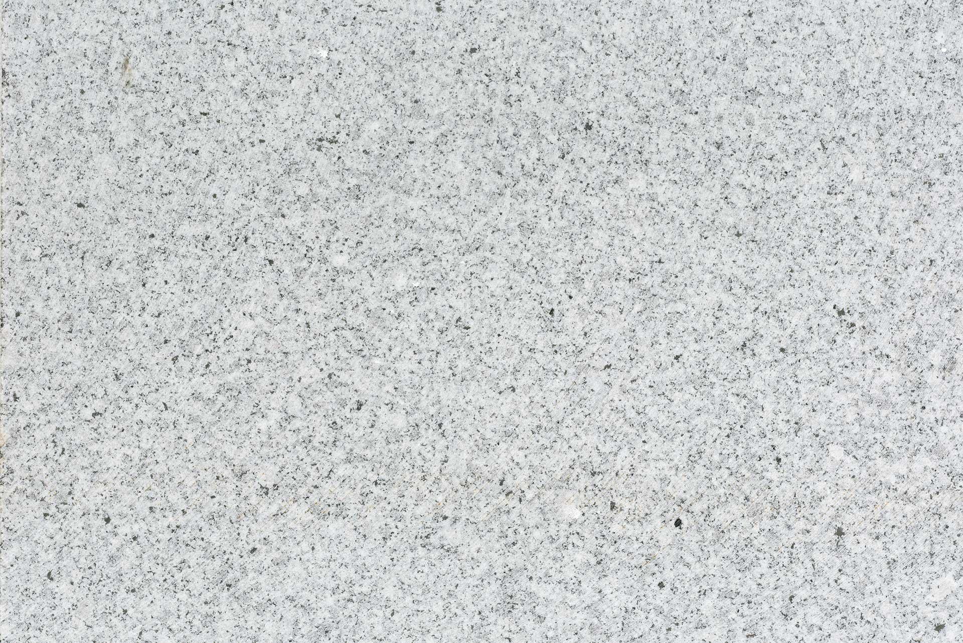 Dalle pierre granit gris blanc Tibet Asian White Jardivrac