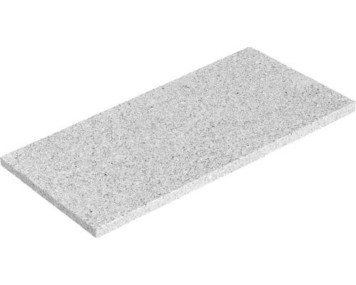 Dalle pour terrasses en granit gris acier 30x60x2 cm