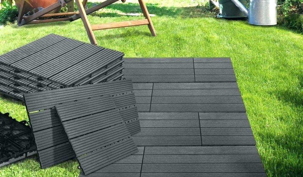 dalle beton sur plot pour terrasse