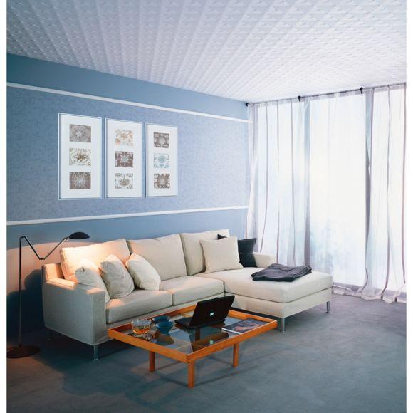 Dalles de plafond polystyrène Vienne pas cher Achat
