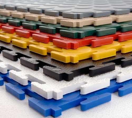 Revêtement de sol de garage en PVC en promo sur notre site