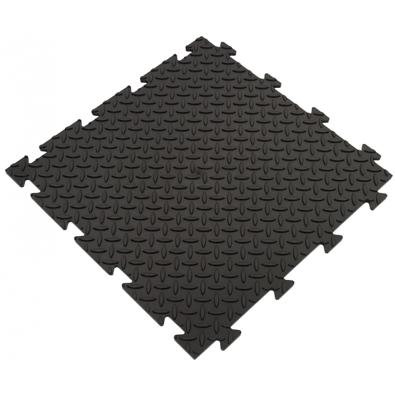 Bordure Clipsable PVC Souple Noir
