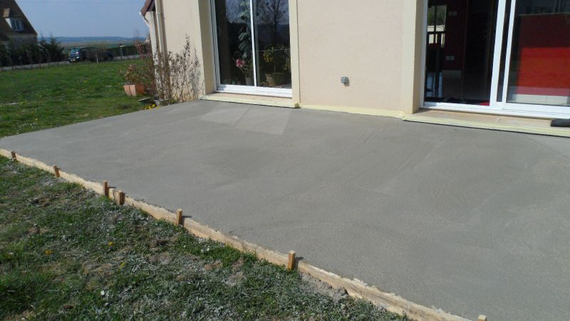 Terrasse beton dalle Nos Conseils