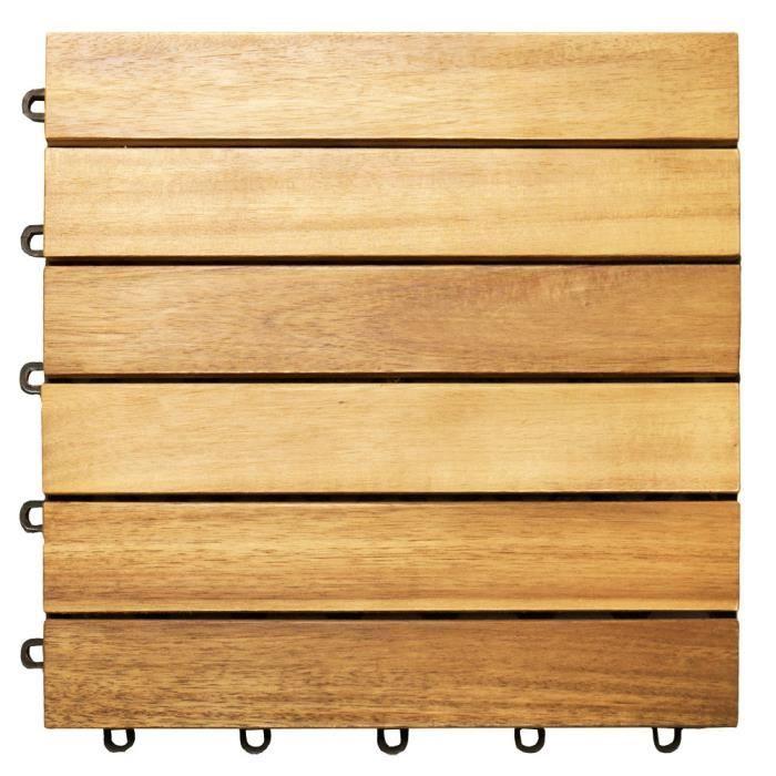 Dalle en bois exterieur Achat Vente pas cher