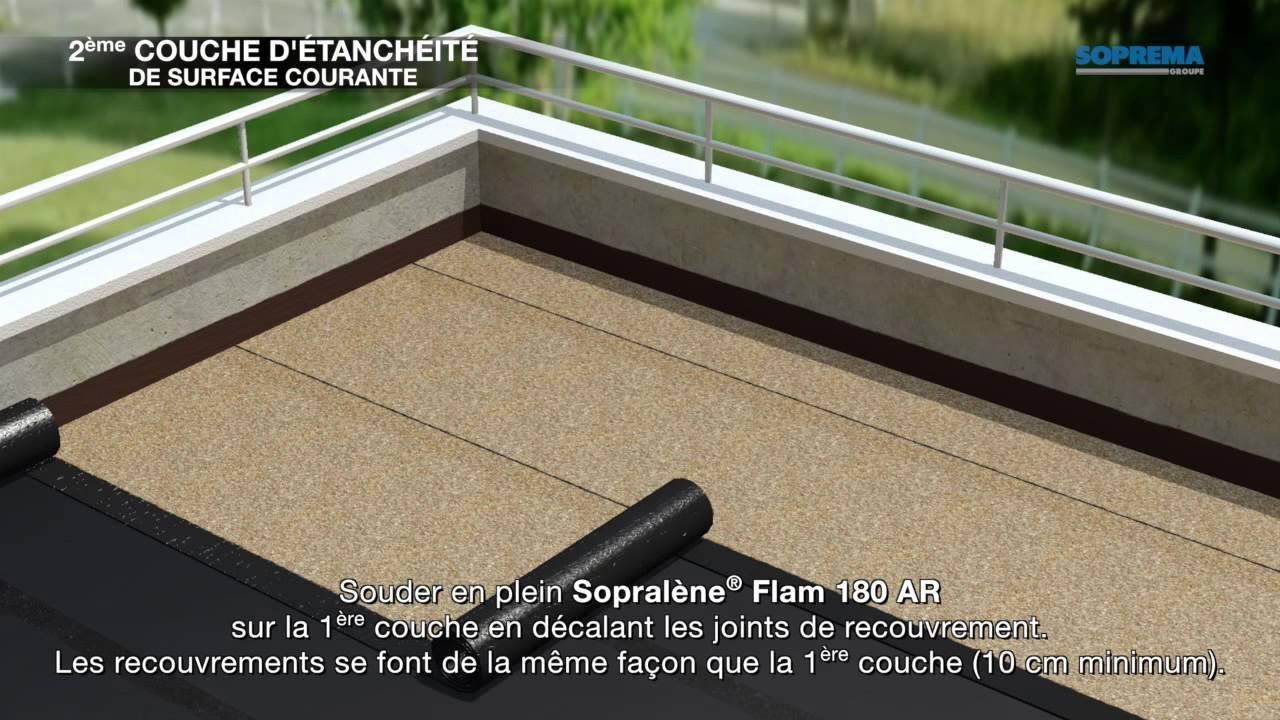 ment étancher une terrasse avec dalles sur plots avec
