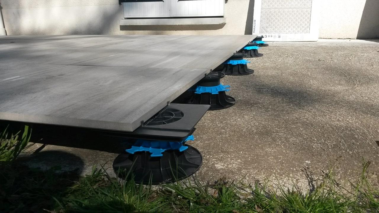 s terrasse dalle Jouplast Solutions Constructives