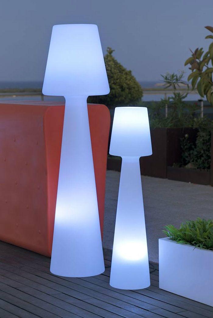 LAMPADAIRE Exterieur DESIGN Projet terrasse