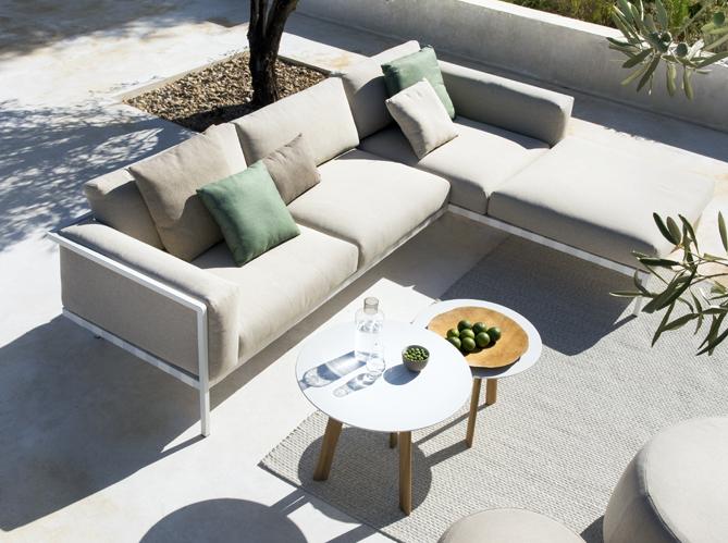 Un salon de jardin design Elle Décoration