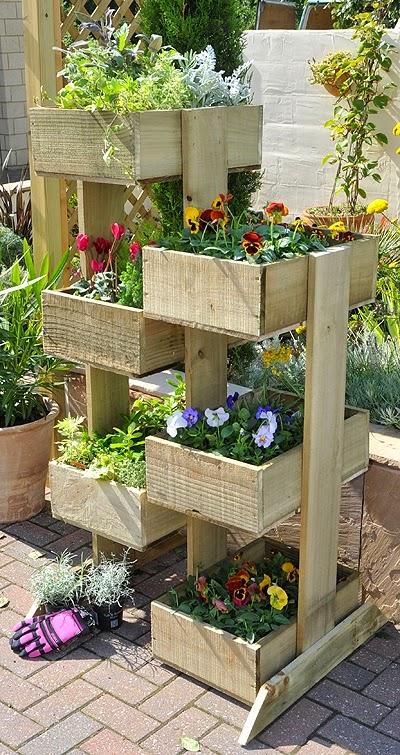 Deco Jardin originale Vertical Gardening Planters Ideas Container Gardening