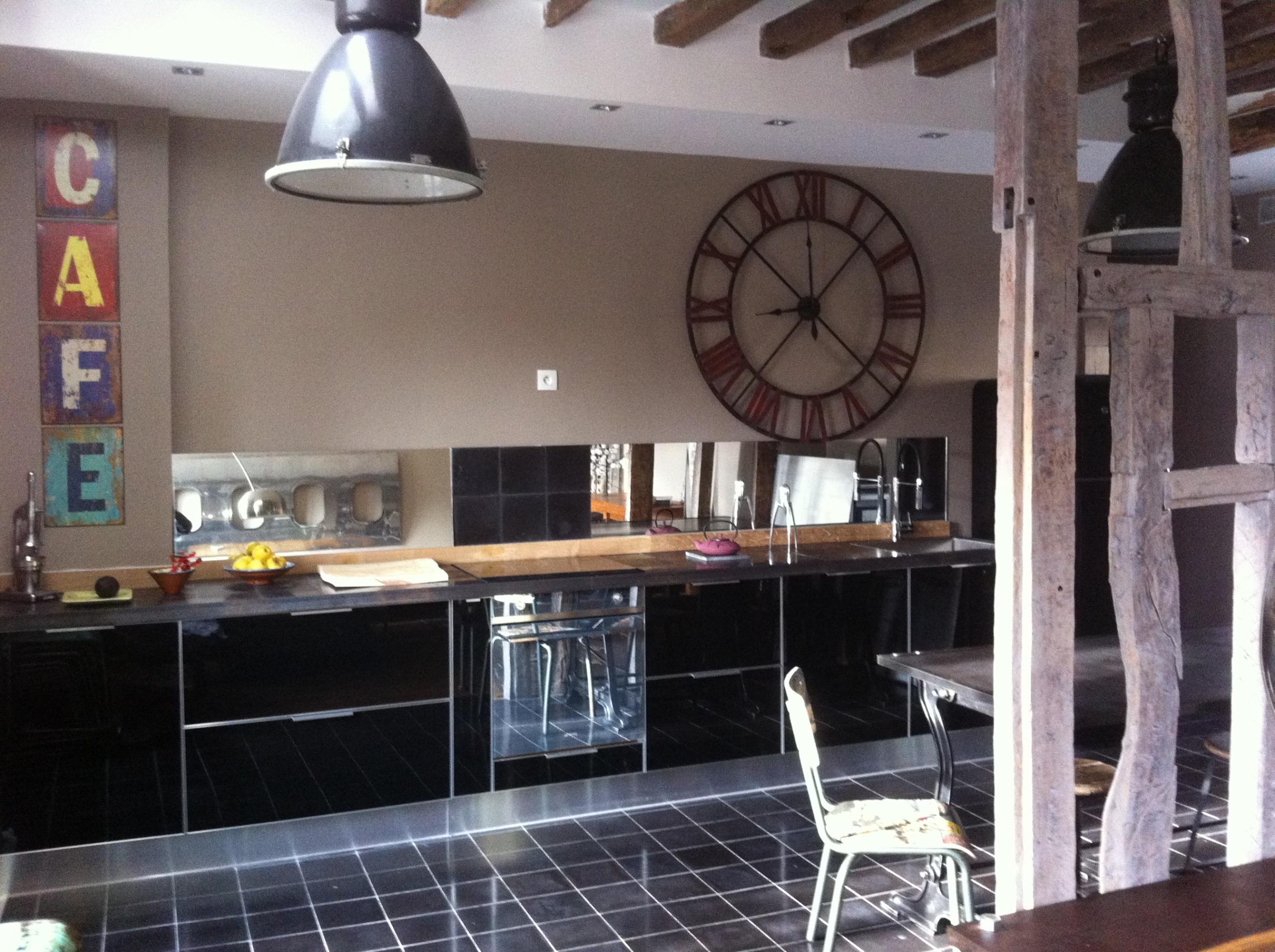 Salon Cuisine Style Industriel déco loft industriel cuisine style industriel loft