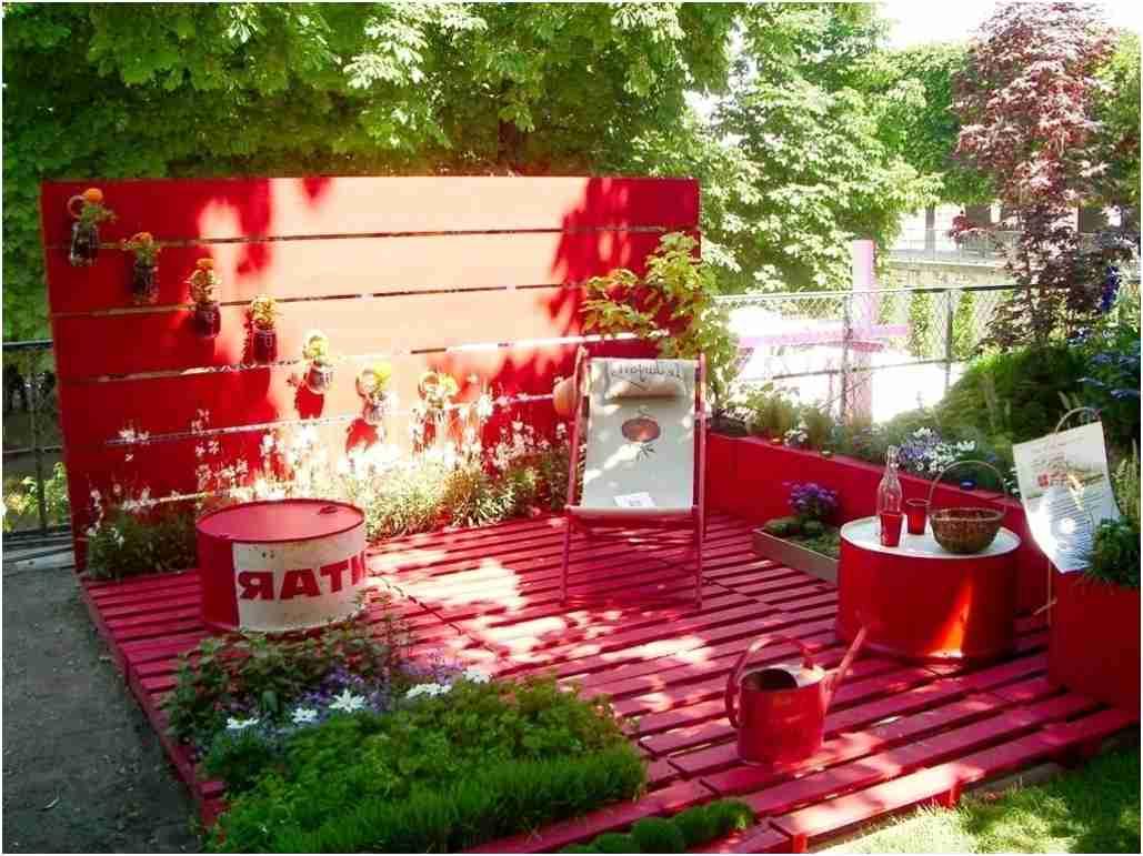 Deco Exterieur Bois Nouveau Palette Bois Deco Jardin