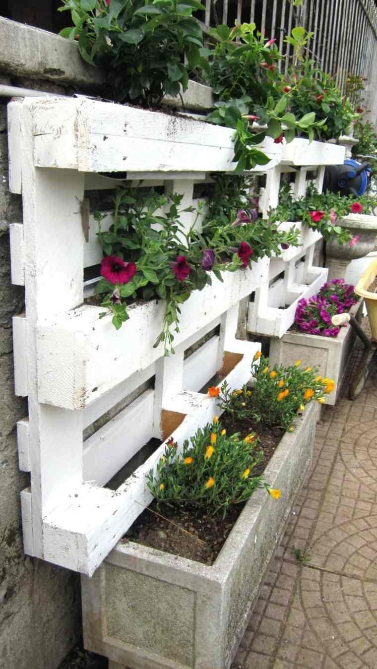 Idee Deco Palette Jardin Idees