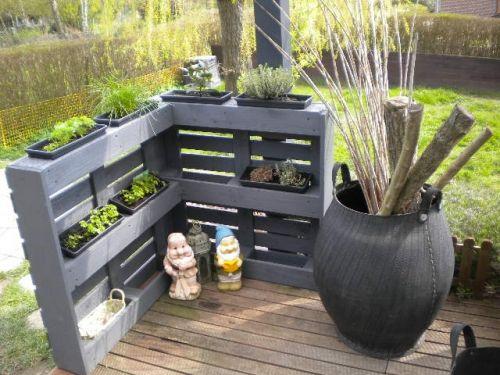 Notre classement de belles décos jardin palette