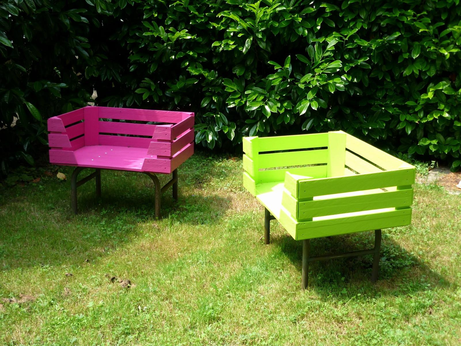 Palette En Bois Deco Jardin