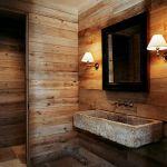 Deco Salle De Bain Bois La Vasque En Pierre En 72 Photos Bathroom