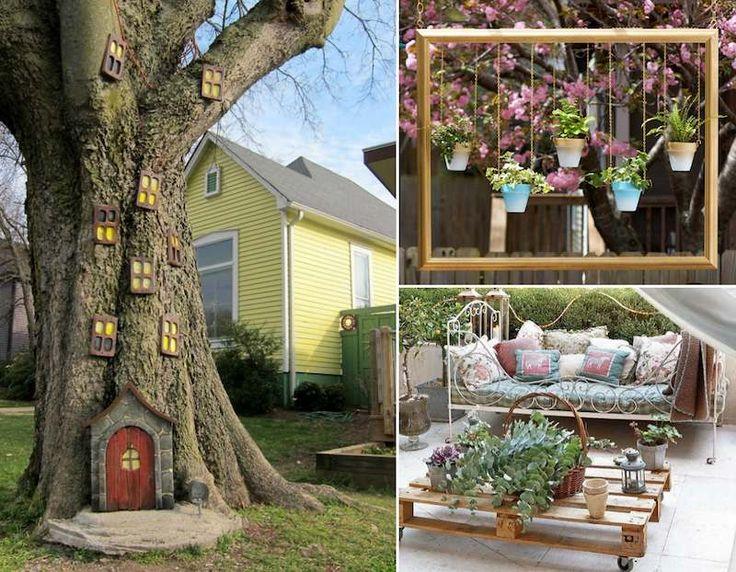 Decor Jardin Maison Des Idées