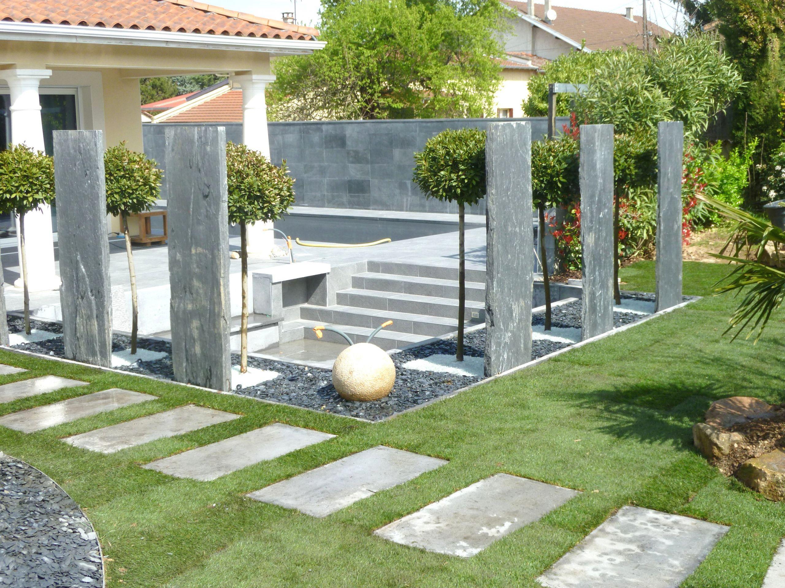 Idee Deco Petit Jardin decor jardin maison idee de decoration jardin exterieur mc