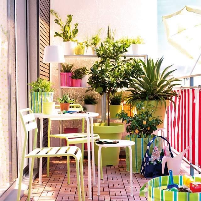 Décoration De Balcon Enjoliver L Extérieur 28 Idées De Déco Balcon Avec Plantes